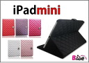 ●Notebook type hardware case / cover / eye pat mini 1837 with the iPad mini case / rhinestone camellia