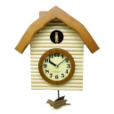 Made in Japan and it's domestically produced hand-made cuckoo clock natural