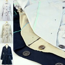 Recognized professional hanygamja card memory (shape memory) material Stein color coat / spring coat-women's coat