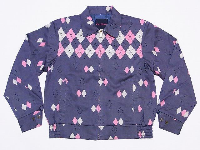 Argyll Jacket Pattern Argyle Gabardine Jacket