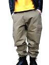 West coast of street style BRAVER bureiba 6 Pocket workpants Chino waist back bandana pattern beige