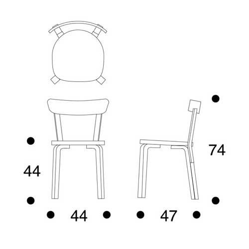 北欧亚特 / altech / 阿尔托 / 69 椅子和桦木 [69 椅子斯堪的纳维亚图片