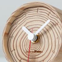 坂本龍一/more trees モアトゥリーズ|年輪の置時計
