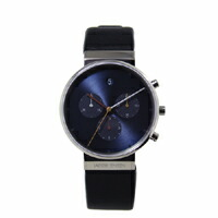 Jacob Jensen ヤコブ イェンセン|腕時計/クロノグラフ 600 Mat Black Dial