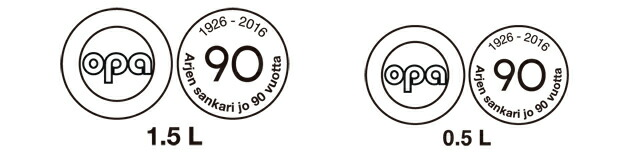 OPA90thロゴ
