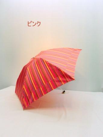州产先染格子生地超軽量超短日本制丸小时装杂货小东西折叠伞女性使用