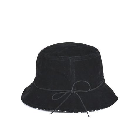 东西反毛皮革日元背后千鸟带卷角钩针编织帽子女性供限期供应使用秋天
