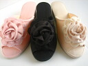 Moire Rose heel slippers (S, M, L)