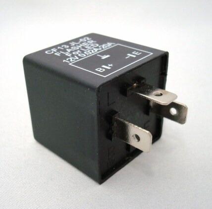 12v5针继电器接线图解