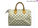 ☆ Louis Vuitton Damier Azur speedy 25 N 41531 handbag LOUIS VUITTON