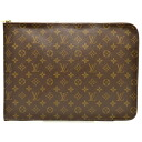 Louis Vuitton Monogram push document Briefcase clutch documents case LOUIS VUITTON.53456 product number 119087a