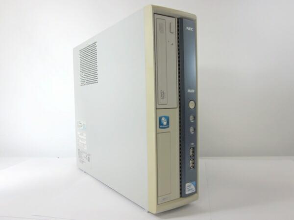[週末特価!] NEC Mate MK26EA-C (Celeron 2.6GHz 2GB 250GB DVD-ROM Windows7 Professional)[N46D]