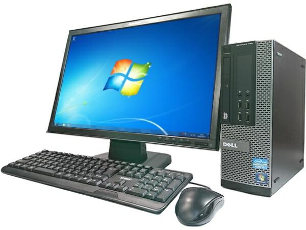 DELL OptiPlex790 (Core i5 2400 3.1GHz 8GB 1TB DVD-ROM Windows7) 22インチワイド液晶セット [D28D22]