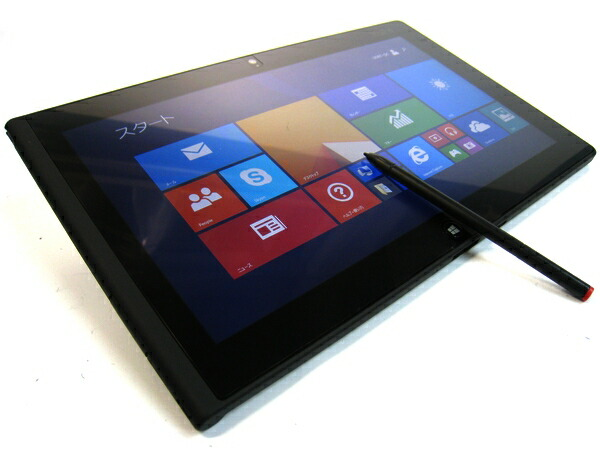 [TB04] Windowsタブレット Lenovo ThinkPad Tablet2 36791F3 (Atom Z2760 Windows8.1Pro)