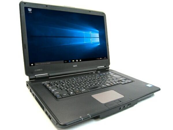 [N85AX] NEC VersaPro VX-B (Core i3 370M 2.4GHz 4GB 160GB DVD-ROM Windows10 Pro 64bit)