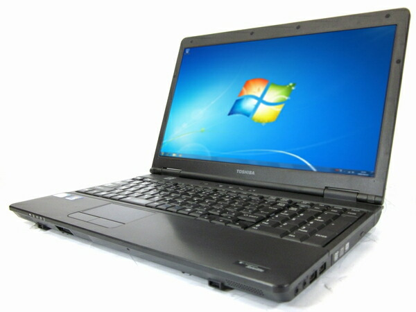 [T37Aw][わけあり品] 東芝 satellite B450 (Celeron 2.29GHz 2GB 250GB DVD-ROM Windows7 Professional)