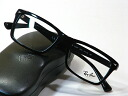 Black frame with new lens with Ray Ban, the rayban degree