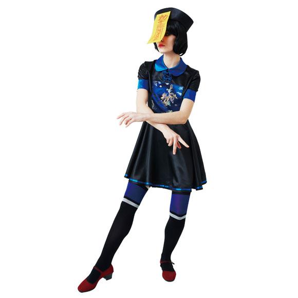 【ハロウィンコスプレ】キョンシーガール【haloween】コスチュームコスプレ衣装仮装ハロウィーンパーティー結婚