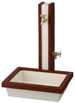 立水栓 水栓柱 ガーデニングアーバン立水栓 ウッド