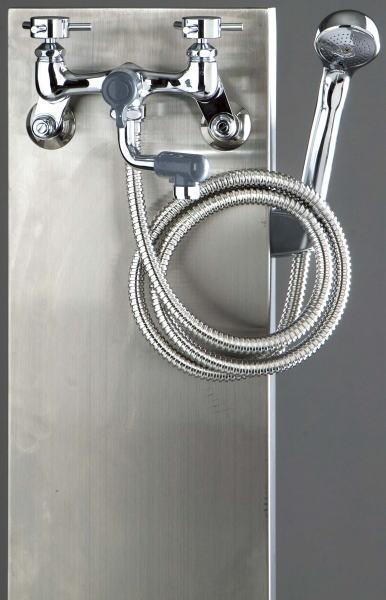 水栓柱【ステンレス混合栓ユニットシャワー付き】
