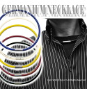 -Germanium Necklace (silicone type)-cool and trendy sport necklace titanium, tourmaline, and discounts KY