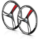 Colima CORIMA 3 spokes 2D road carbon wheels TU front