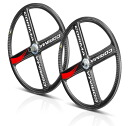 4 Colima CORIMA spoke HM road carbon wheel 700C/650C TU rear