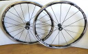 Before and after Shimano WH-RS81-C35 clincher wheel