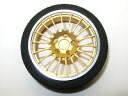RC model parts square TRX-16FG (gold) prop aluminum steering wheel diameter 40 type type-f ( 18 spoke )