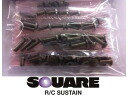 ★ RC model parts SQUAER / square RC ★ SCR-61 ステンレスヘックスビス set