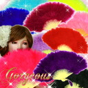◆A lot of correspondence ◆ size volume ☆ rial fur Juliana folding fan /