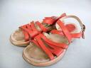 Sandals 39 (24.5cm) with quality goods ■ DANSKO dance cost lap cinnabar red / sabot