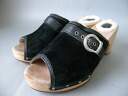 Non-defective! ■ women UGG UGG 1827 heels with suede Sandals (26 cm) black