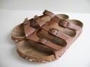 ■ birkenstockbirchy pattern sole Florida (39-25 cm) Brown