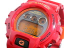 Move G ショックジーショックメンズ watch arm, and is; DW-6900CB-4 DW6900CB-4 crazy colors CRAZY COLORS red red