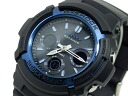 CASIO g-shock g-shock wave solar standard model an analog-digital black x blue AWG-M100A-1A AWGM100