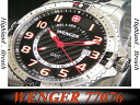 Super special price ★ Wenger watch WENGER SQUADRON スクアドロン GMT 77076
