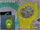 «Same day shipping] ★ CASIO watch Casio watches Casio g shock g-shock Watch (watch 6600) baby-g Watch (babysit Watch) BGA-170-9B