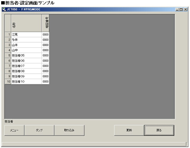 JET-650LSR説明ツール