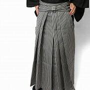 仙台平風の縞袴