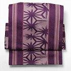 名古屋帯紫