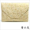 Free-standing tea ceremony room bag (a plow and bag) 蔓小花正絹名物裂