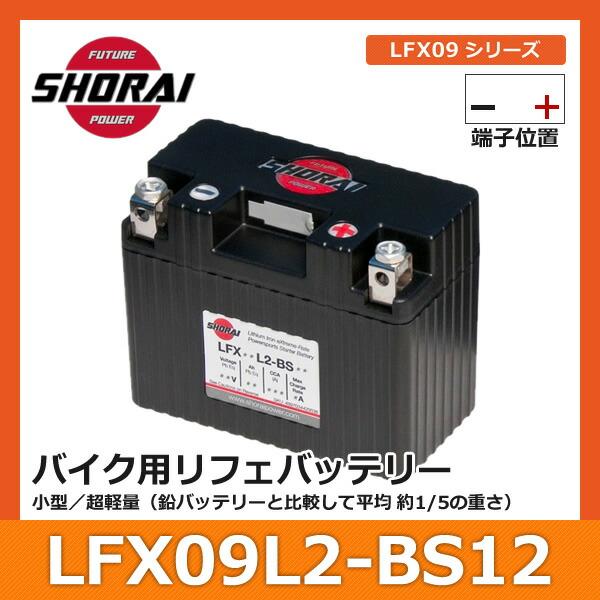 ���祦�饤�Хåƥ LFX09L2-BS12