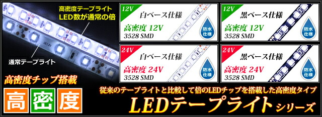 高密度テープライト
