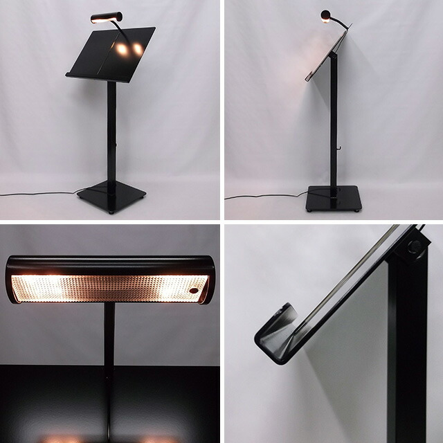 LEDライト付きメニュースタンド(置き型)ライトアップ
