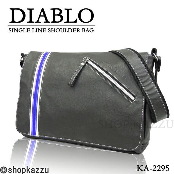 ショルダーバッグ メンズ DIABLO ディアブロ シングルライン