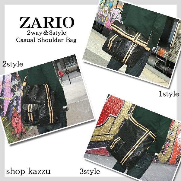 ショルダーバッグ メンズ トートバッグ 2way&3style ZARIO【KA-2019】イメージ写真6