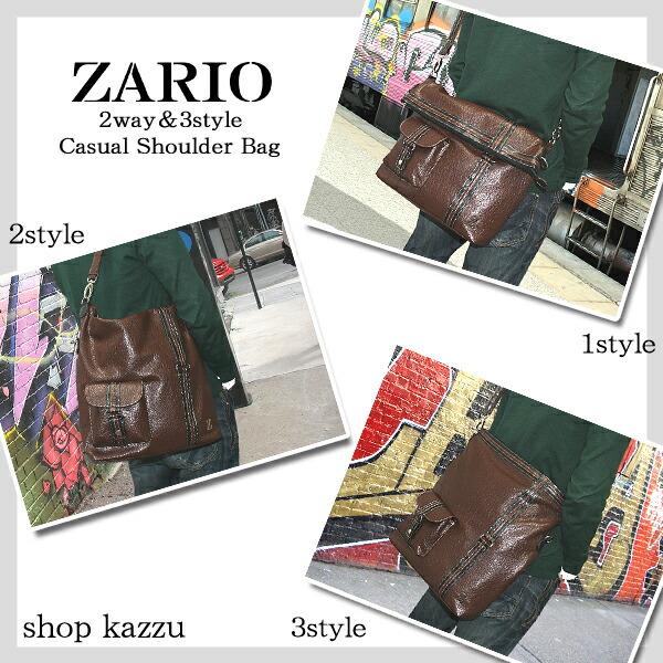 ショルダーバッグ メンズ トートバッグ 2way&3style ZARIO【KA-2019】イメージ写真9