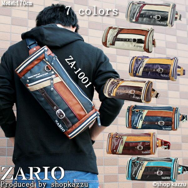 ボディバッグ ボディーバッグ メンズ フロントラインシリーズ ZARIO ザリオ(7色)