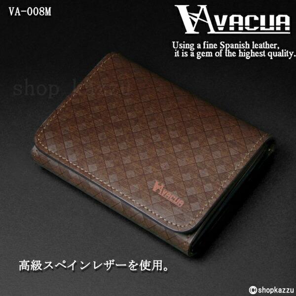 名刺入れ メンズ スペインレザー 牛床革 メッシュ カードケース VACUA (3色) 【VA-008M】イメージ写真3